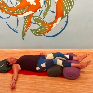 Double Bolster Savasana